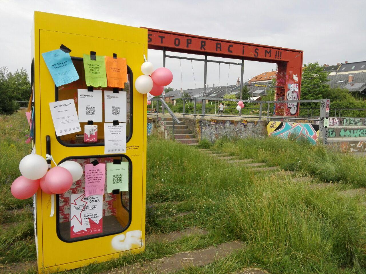 Telefonzelle von den Spielfreudigen   |  Foto: Babette Büchele