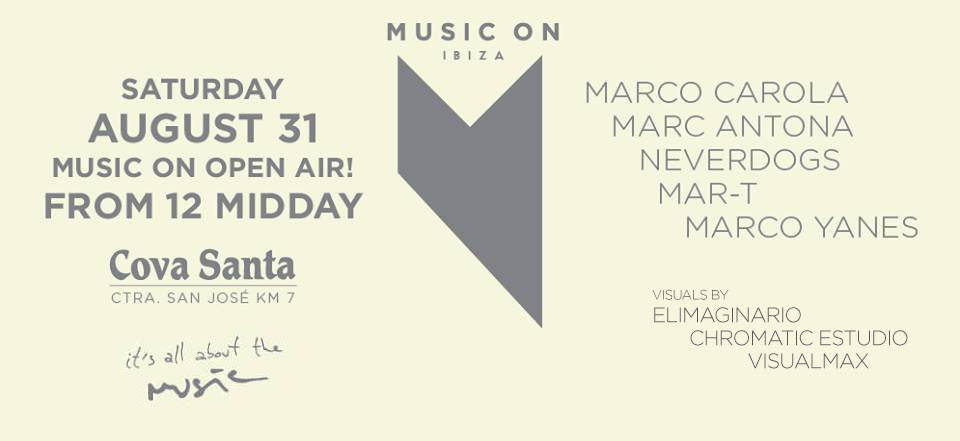 VJ PRODUCER + VISUAL LIVE AFTER MUSIC ON AT COVASANTA IBIZA elimaginario