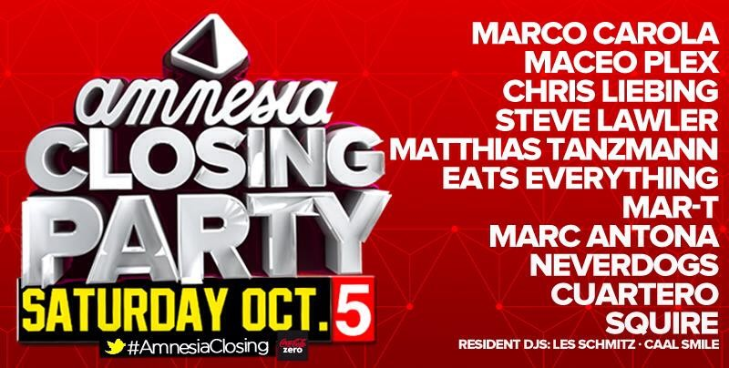 VJ PRODUCER + VISUAL LIVE AMNESIA IBIZA CLOSING PARTY elimaginario