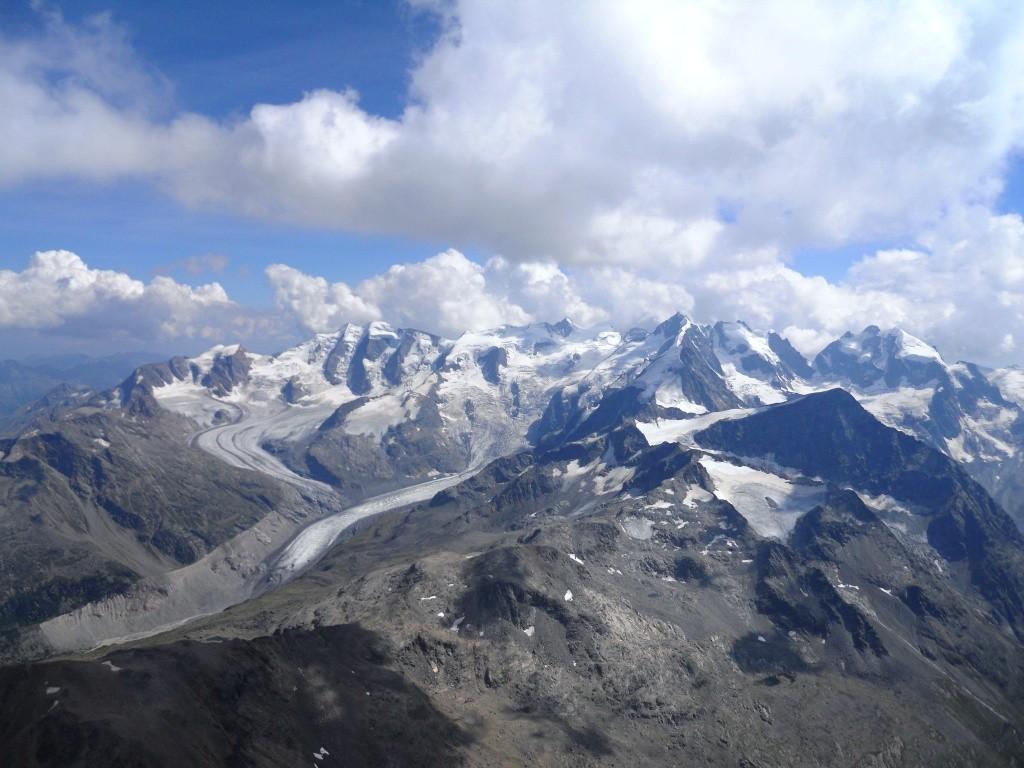 Die Bernina in Ihrer ganzen Schönheit