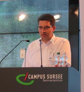 Präsident SBV Konrad F. Schmid
