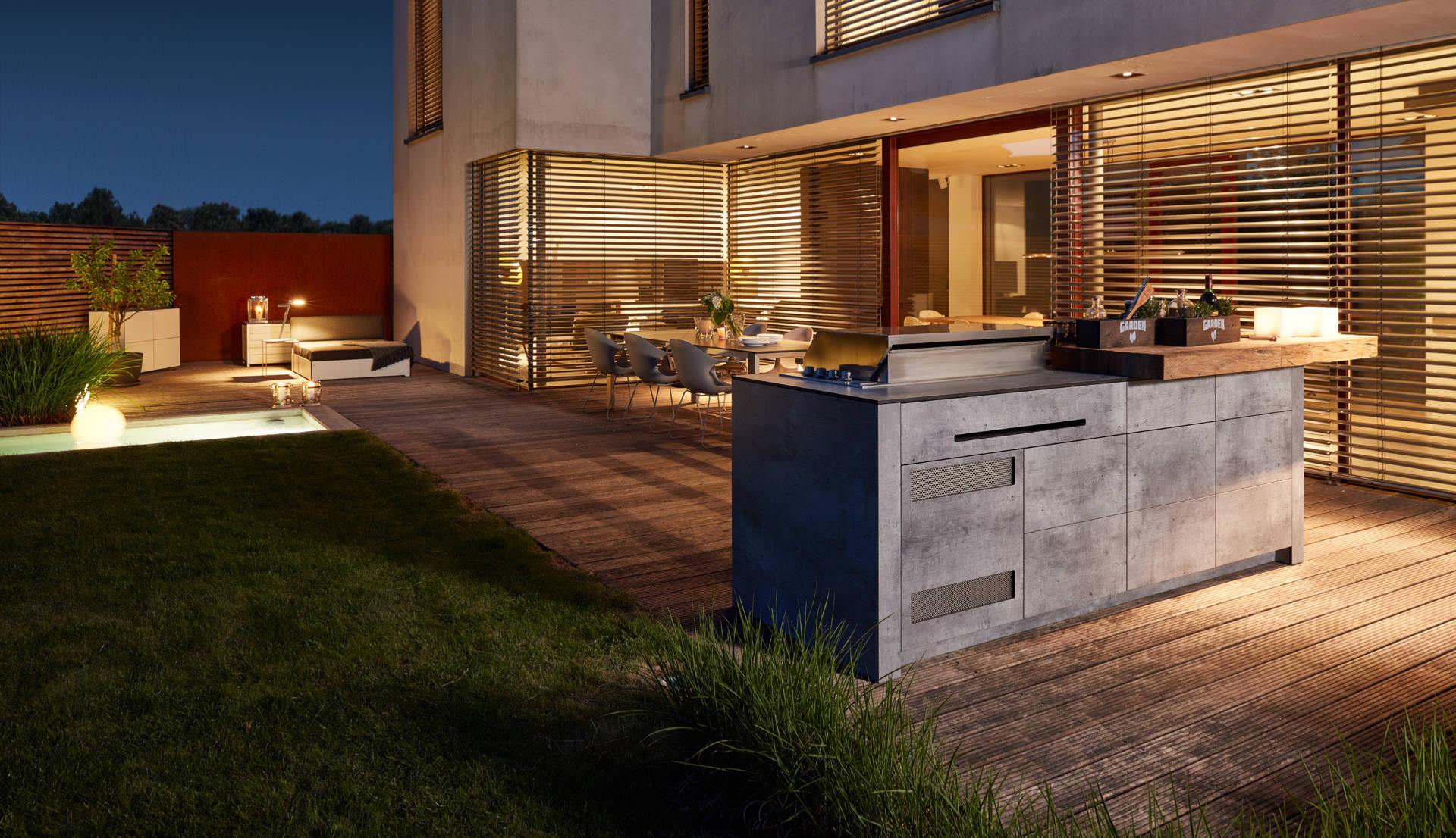 Outdoorküche Zubehör Zürich : Bbqtion die luxuriöse outdoorküche ackutech ag