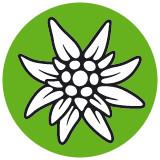 Edelweiss Logo des Alpenvereins.