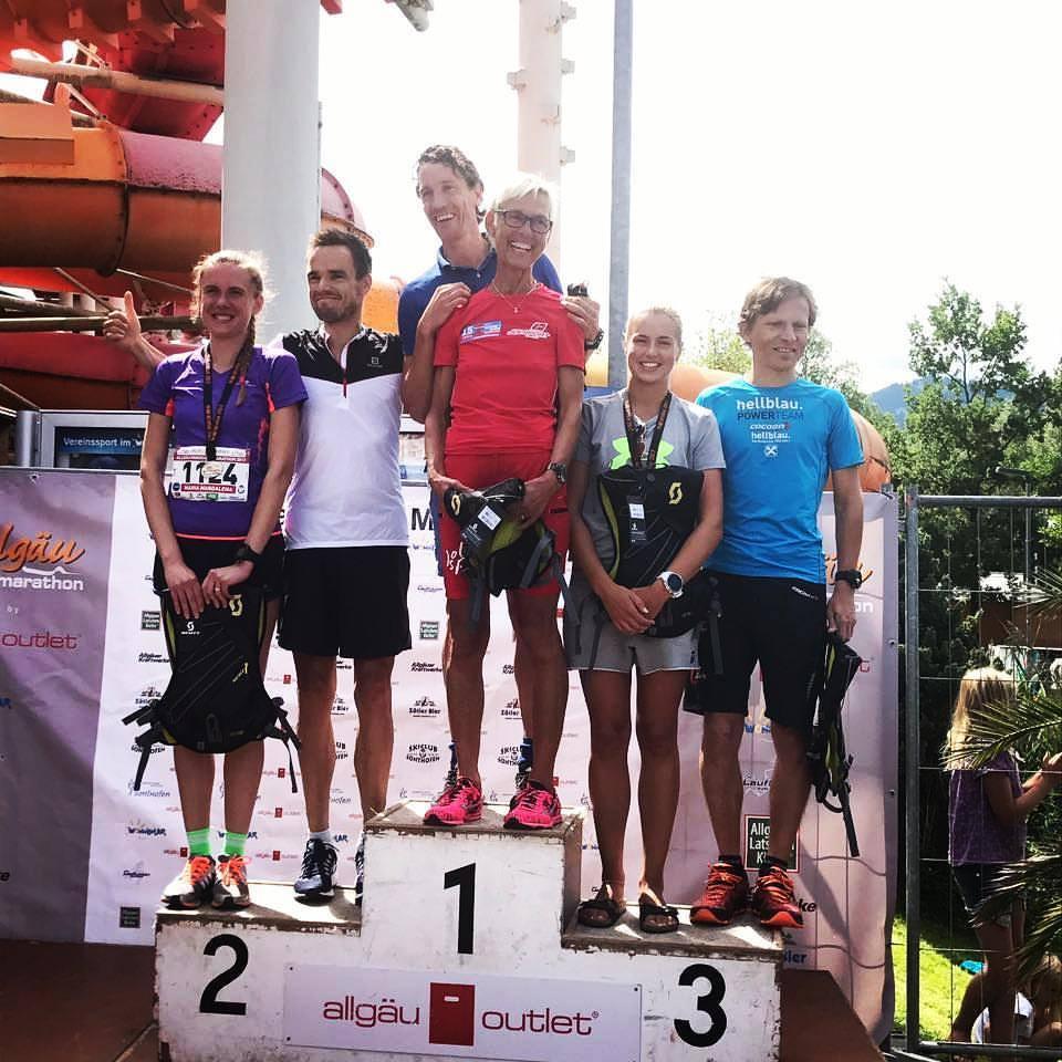 Rang 2. in der Gesamtwertung für Johannes Willburger