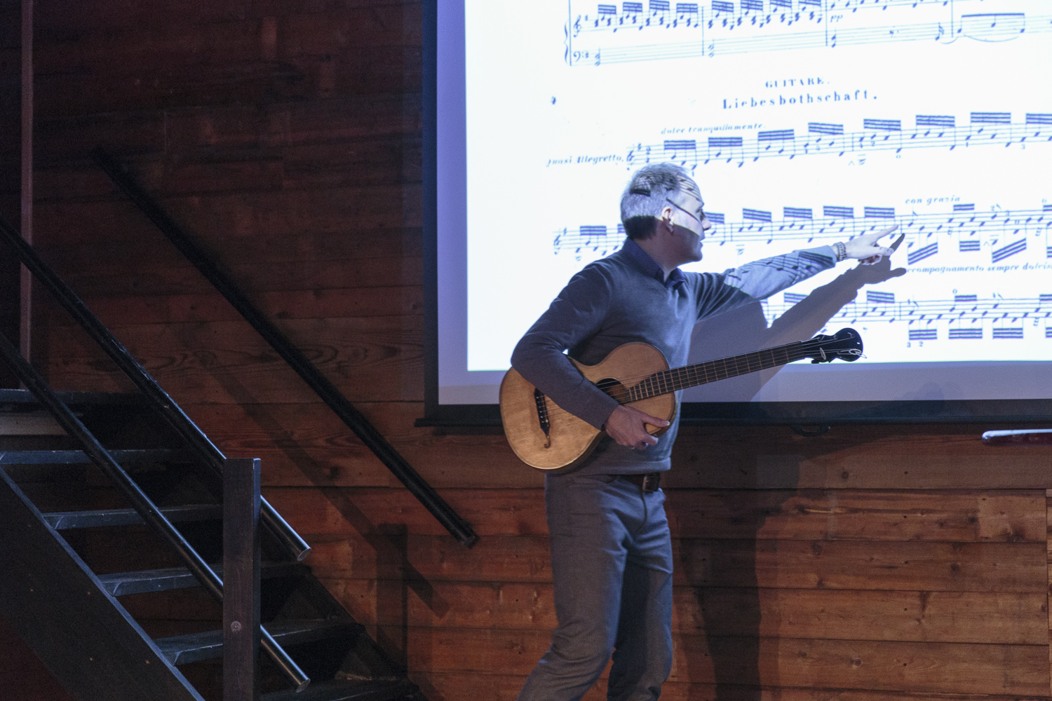 Lecture by Fernando Cordas: The Poetic Guitar.