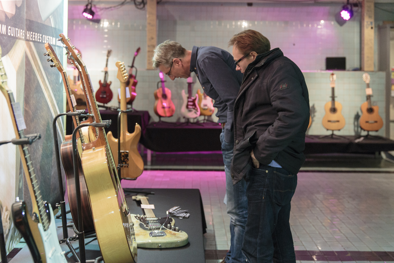 25 years of Heeres Guitars represented by 40 guitars on loan from their owners.