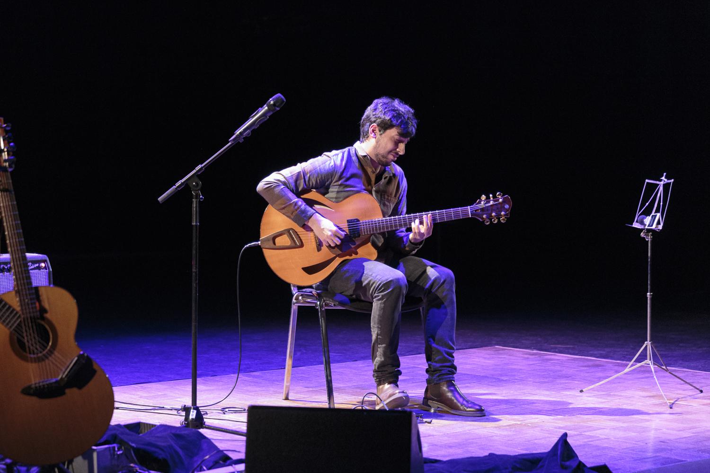 Marcio Philomena's concert.