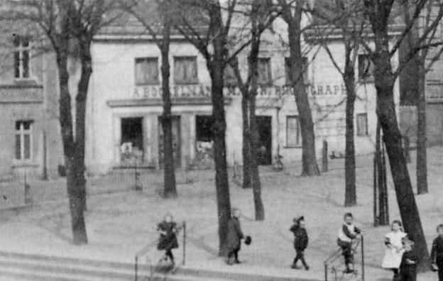 Ansicht um 1909