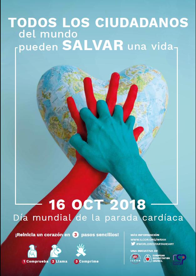 ERC European Resucitation Council, Todos los ciudadanos salvan vidas 2018