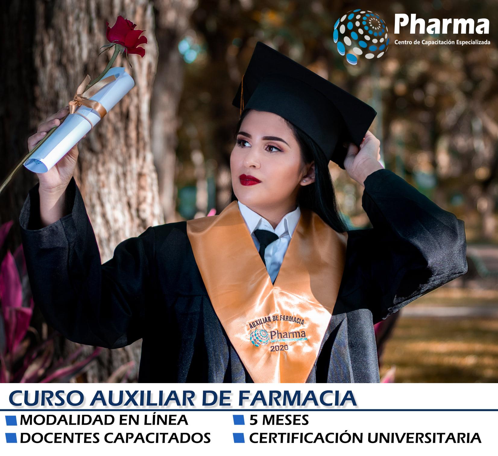 Curso de Auxiliar de Farmacia - Página web de pharmabolivia