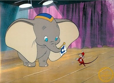 Dumbo, an elephant