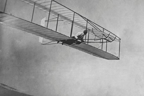 FIRST FLYING PLANE