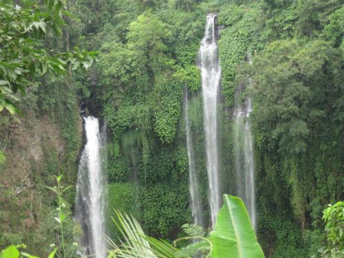 Les chutes d'eau magnifique