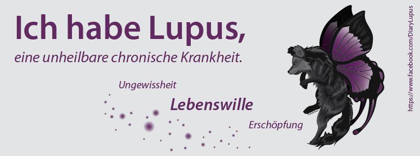 LupusDiary Banner, für alle Betroffenen frei verfügbar