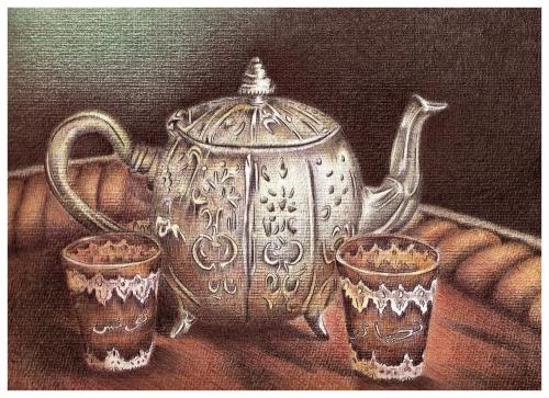 Le thé à la menthe - STYLO BILLE