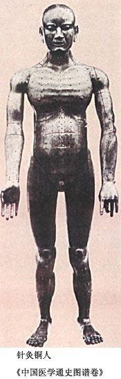 Exemple de reproduction d'une statue en bronze de la dynastie Song