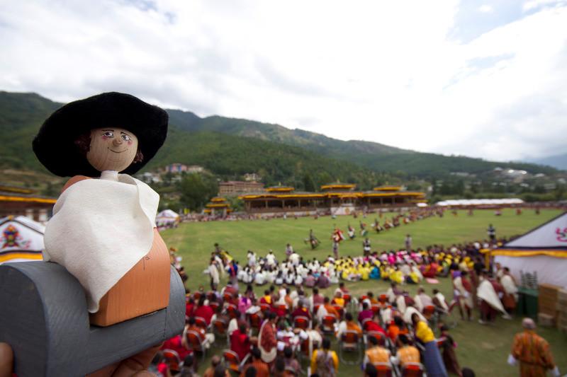 Reisegoethe bei der königlichen Hochzeit in Bhutan