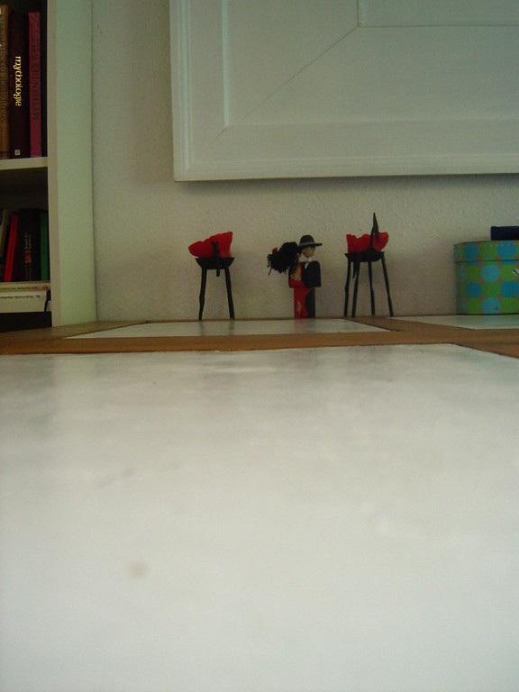 Holzfiguren: Figurenplatzierung