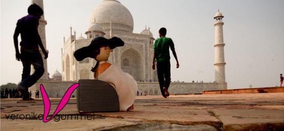 Goethe am Taj Mahal