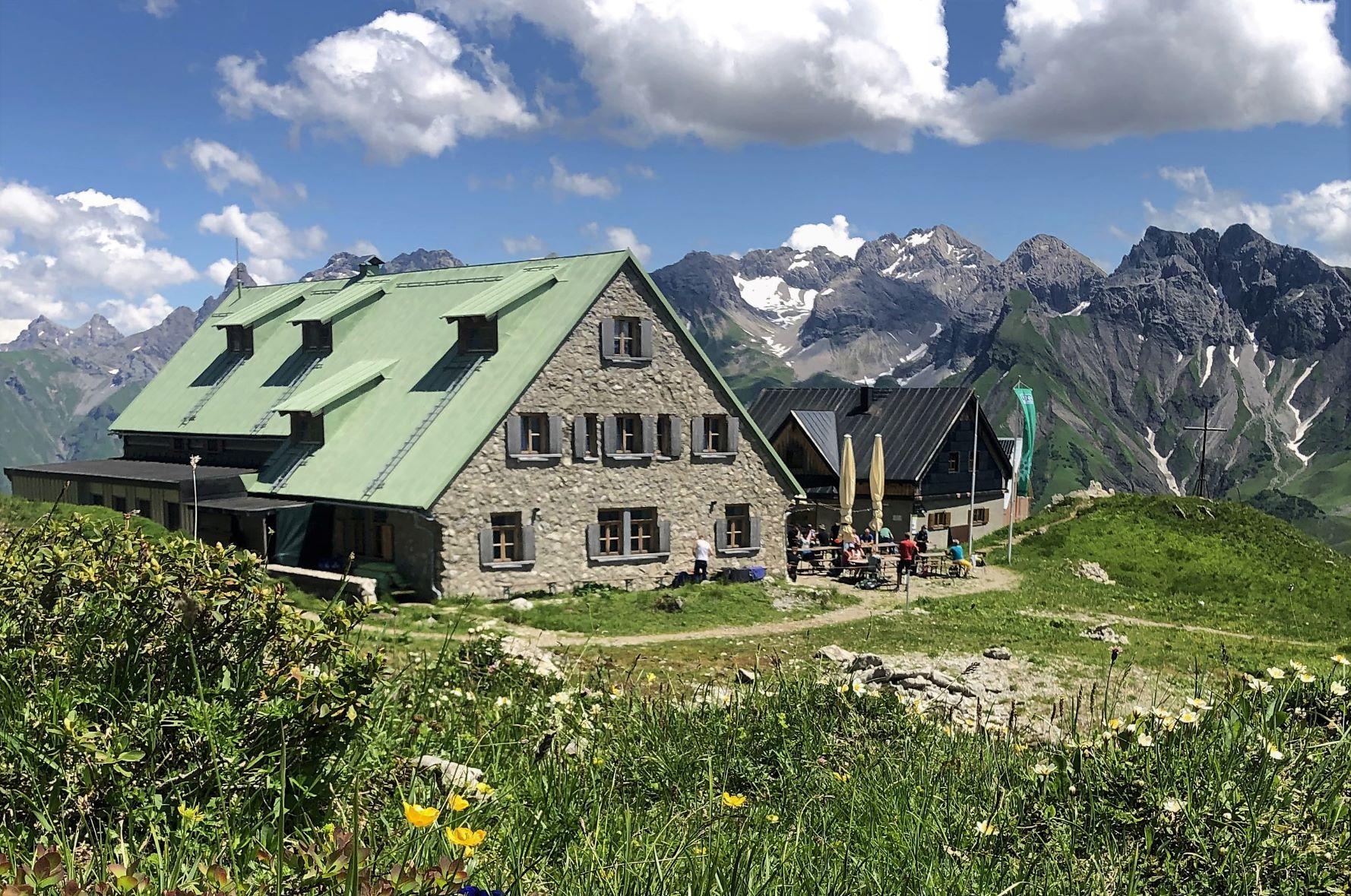 Hüttenwanderung Oberstdorf Schutzhütten