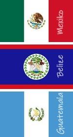 Mexiko Belize Guatemala