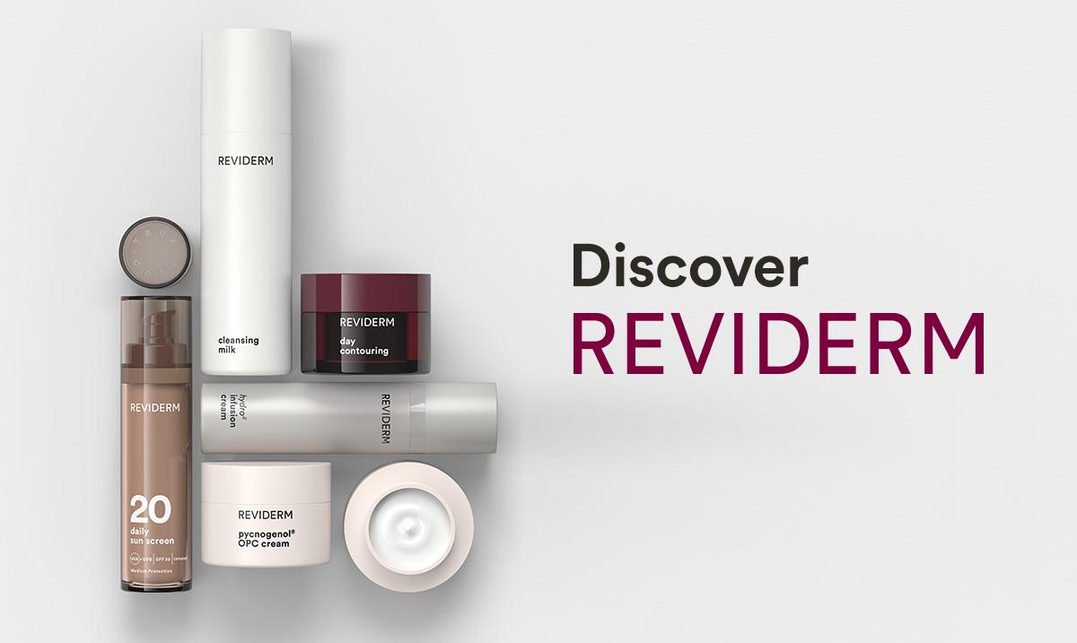 Die Marke Reviderm - Hautexperten seit 1986