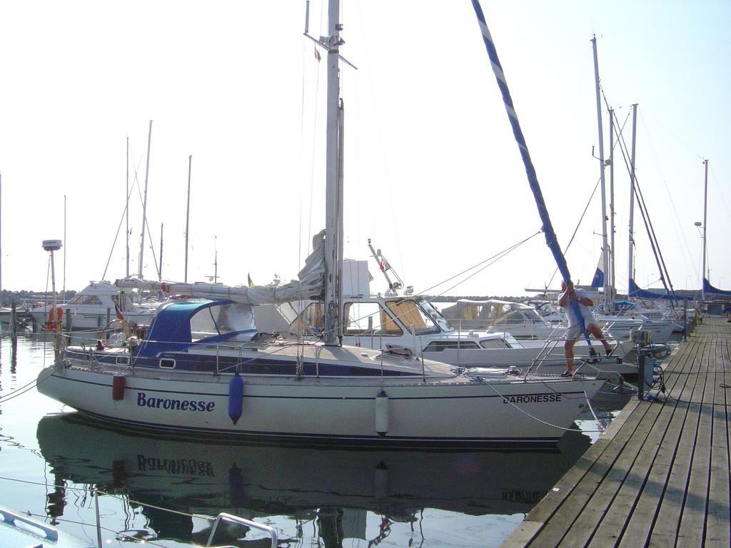 """""""Baronesse"""" ein 40 Fuß Schiffe für 5 Personen"""