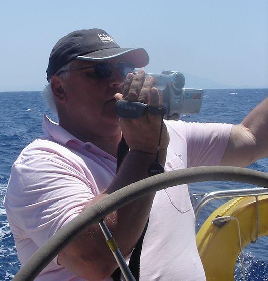 Auf Fahrt durch den Golf, bei Windstärken bis zu 7 Bft
