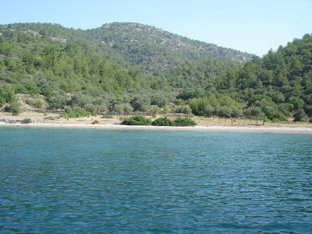 Ein kleine Bucht westl von Cökertme - Kargili Bükü