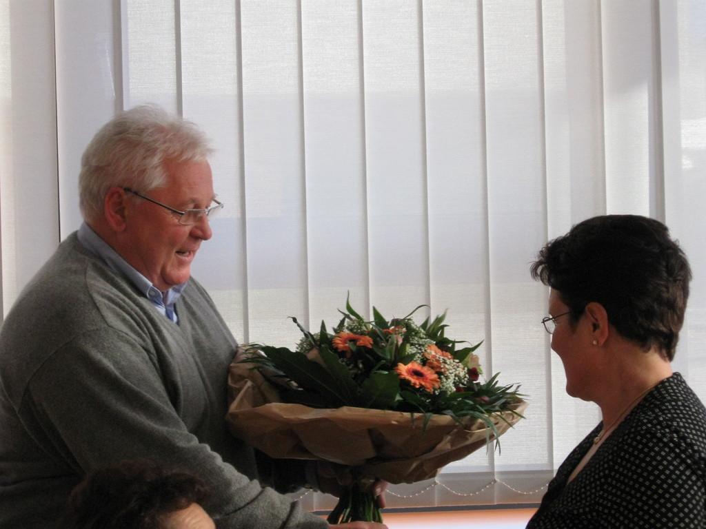 Verabschiedung von F. Chiarello in den Ruhestand