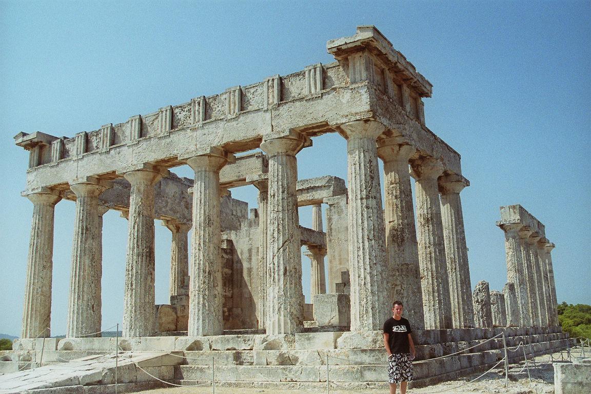 Akropolis in Ägina