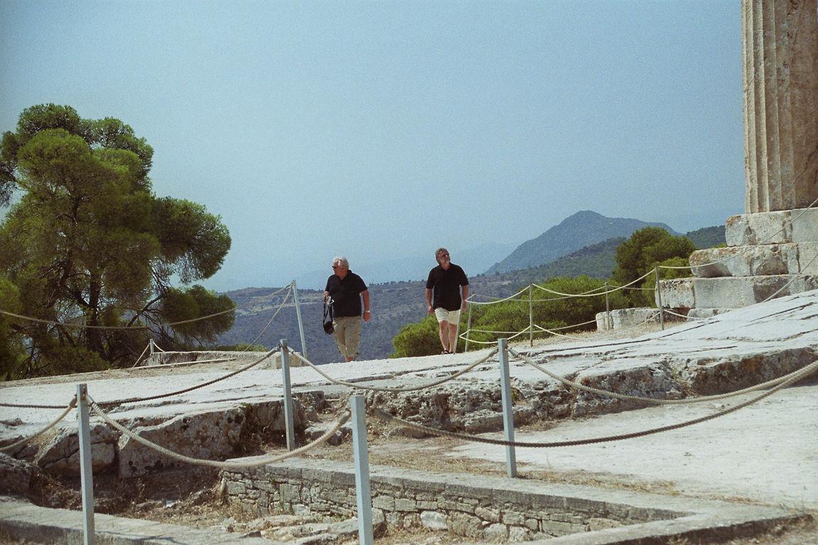 Aufstieg zur Akropolis