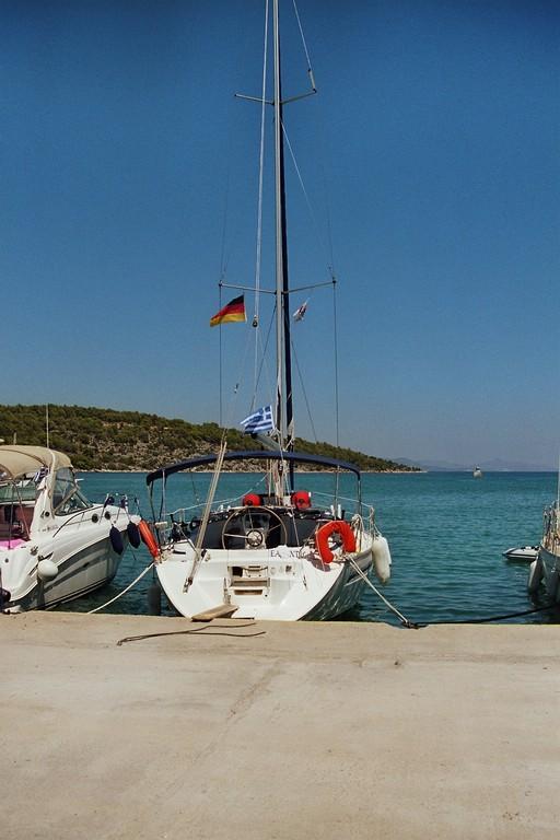 Im Hafen von Epidauros