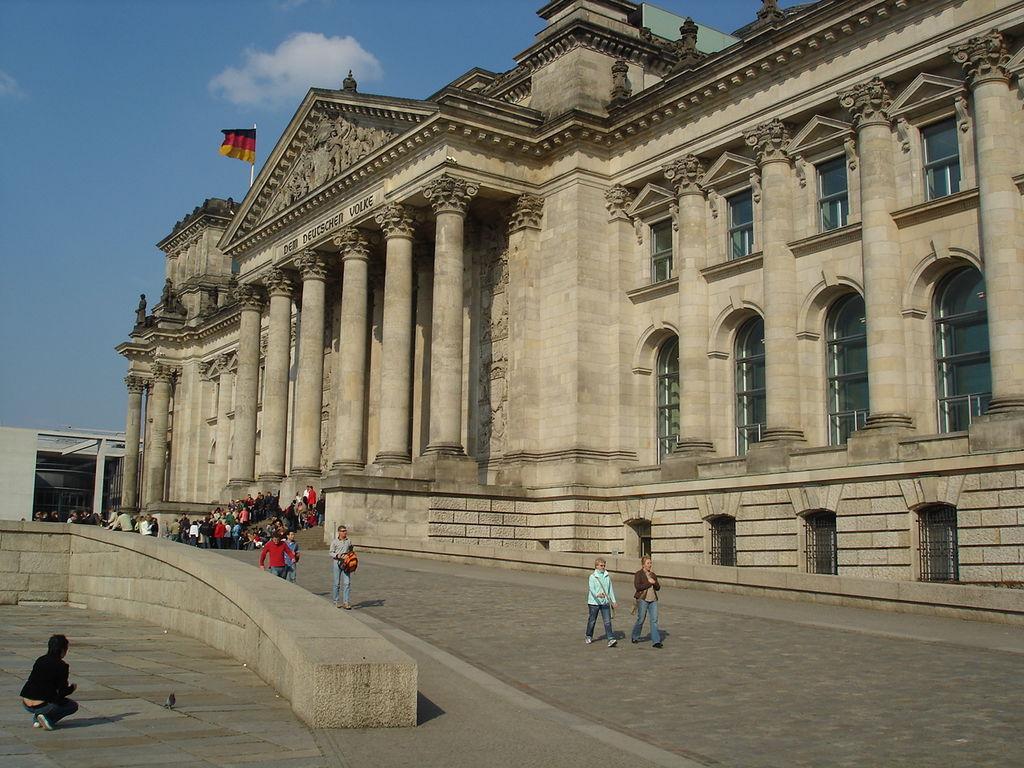Bundestag im Reichstag!