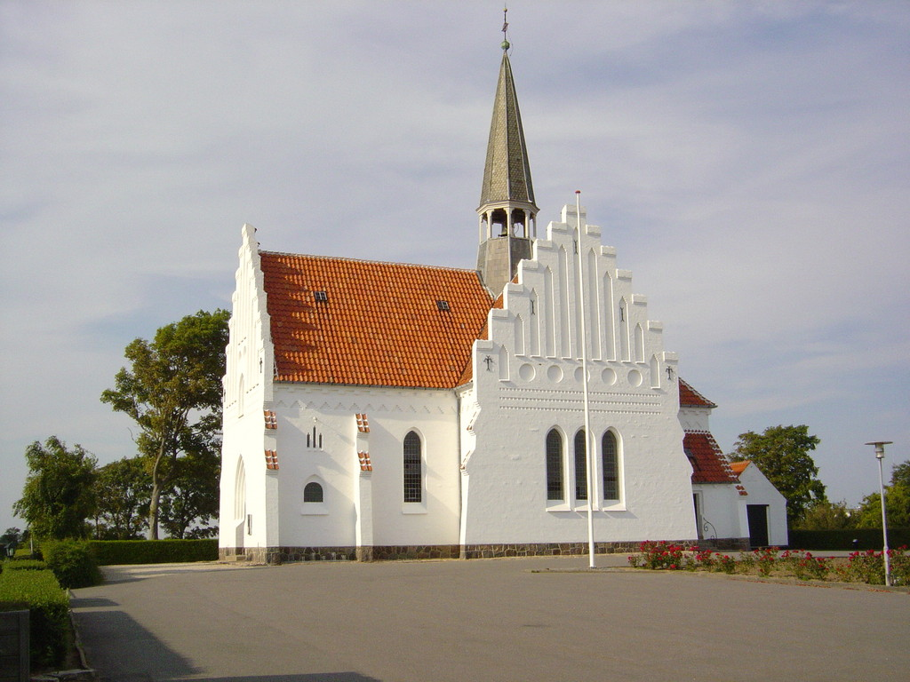Markante Kirche in Bagenkop