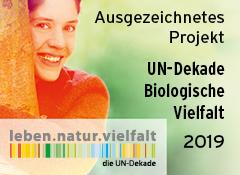 Erneute Auszeichnung für Bienenretter UN-Dakade Biologische Vielfalt 2019-2020