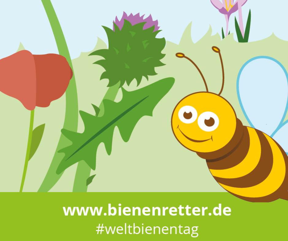 Deutsche Postcode Lotterie fördert Bienenretter zum Weltbienentag