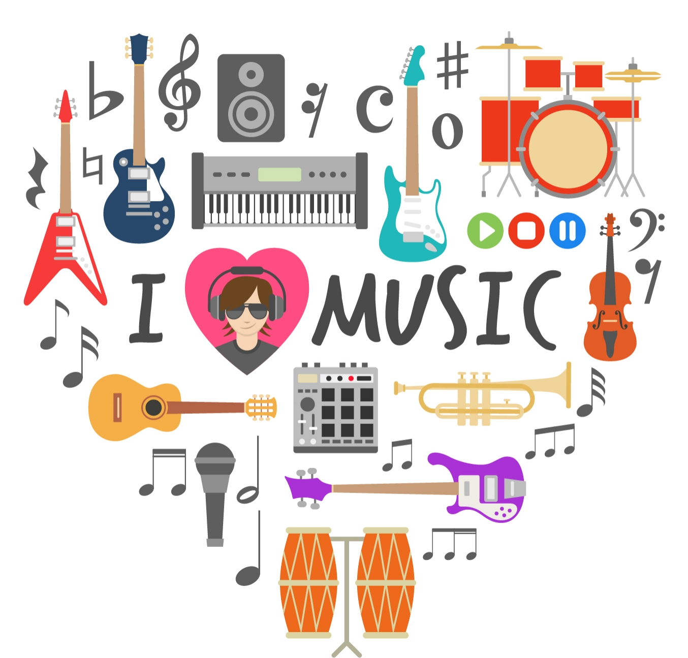 ...aus Liebe zur Musik