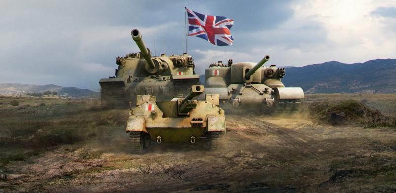 Línea anticarros británicos/ New line tanks Britain's