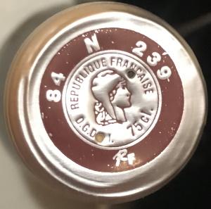 Capsule de vin Négociant