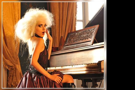 Valentina Caruso Foto per Gothic Time.com 1