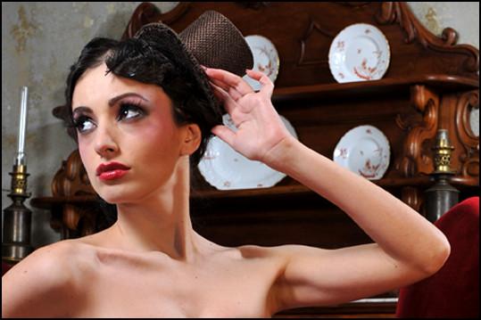 Valentina C. Foto per Gothic Time.com III SERIE 3