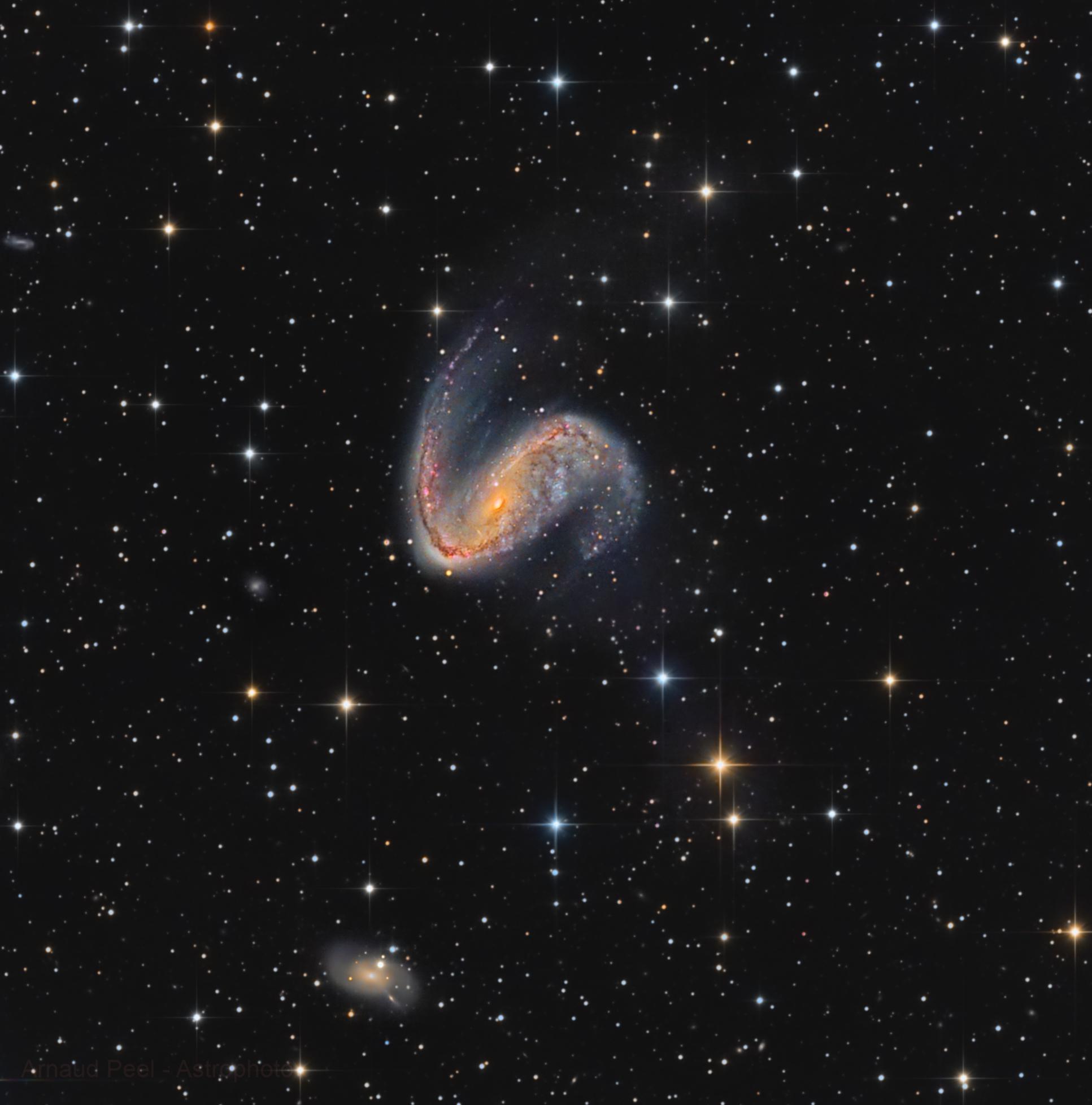 NGC 2442, HaLRVB, T355, Sadr Chili, Arnaud
