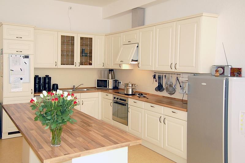 In unserer Küche wird jeden Tag für und mit den Tagespflegegästen gekocht und gebacken.
