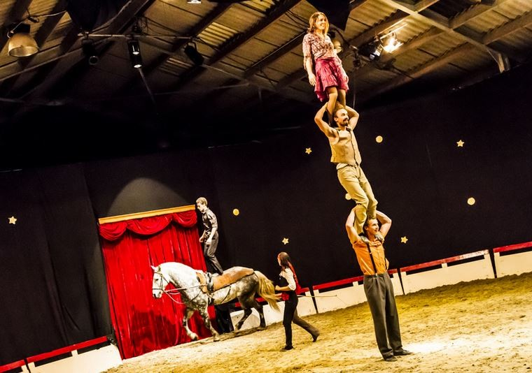 Tempo d'Eole - Cirque Equestre