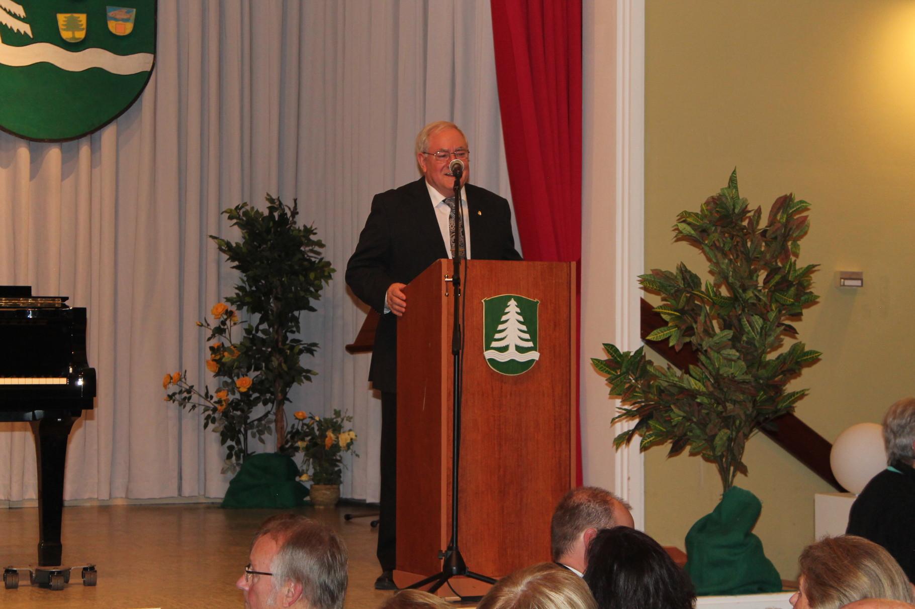 Ansprache- 2. Vorstand Chorvereinigung Untertaunus- Roland Vogel
