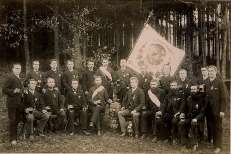 Das älteste Bilddokument des M.G.V. aus dem Jahr 1891
