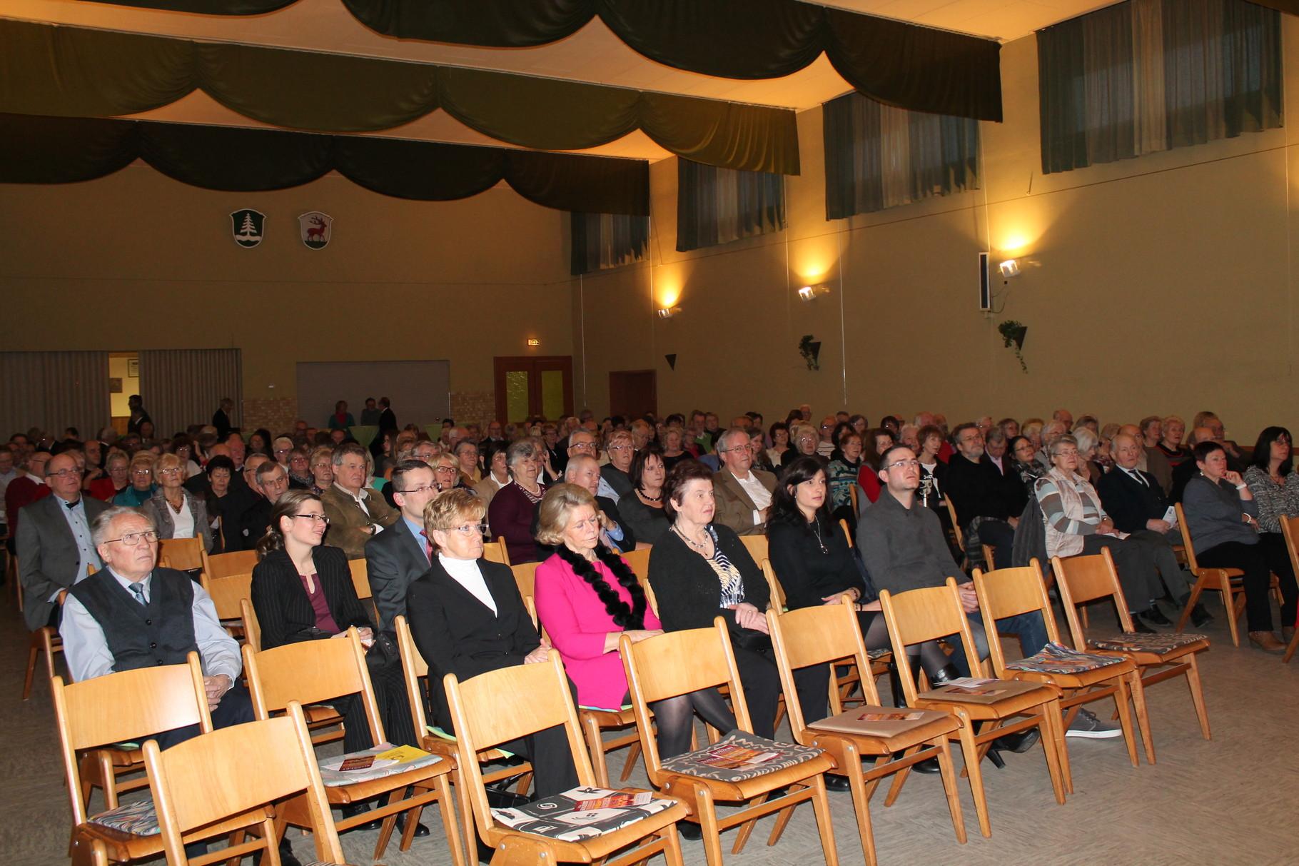 Ehrengäste - Hr. Johannes Krauß, Hr. Raoul Nägele mit Gattin, Fr. Brigitte Schlaud, Fr. Slike Forst-Schlaud
