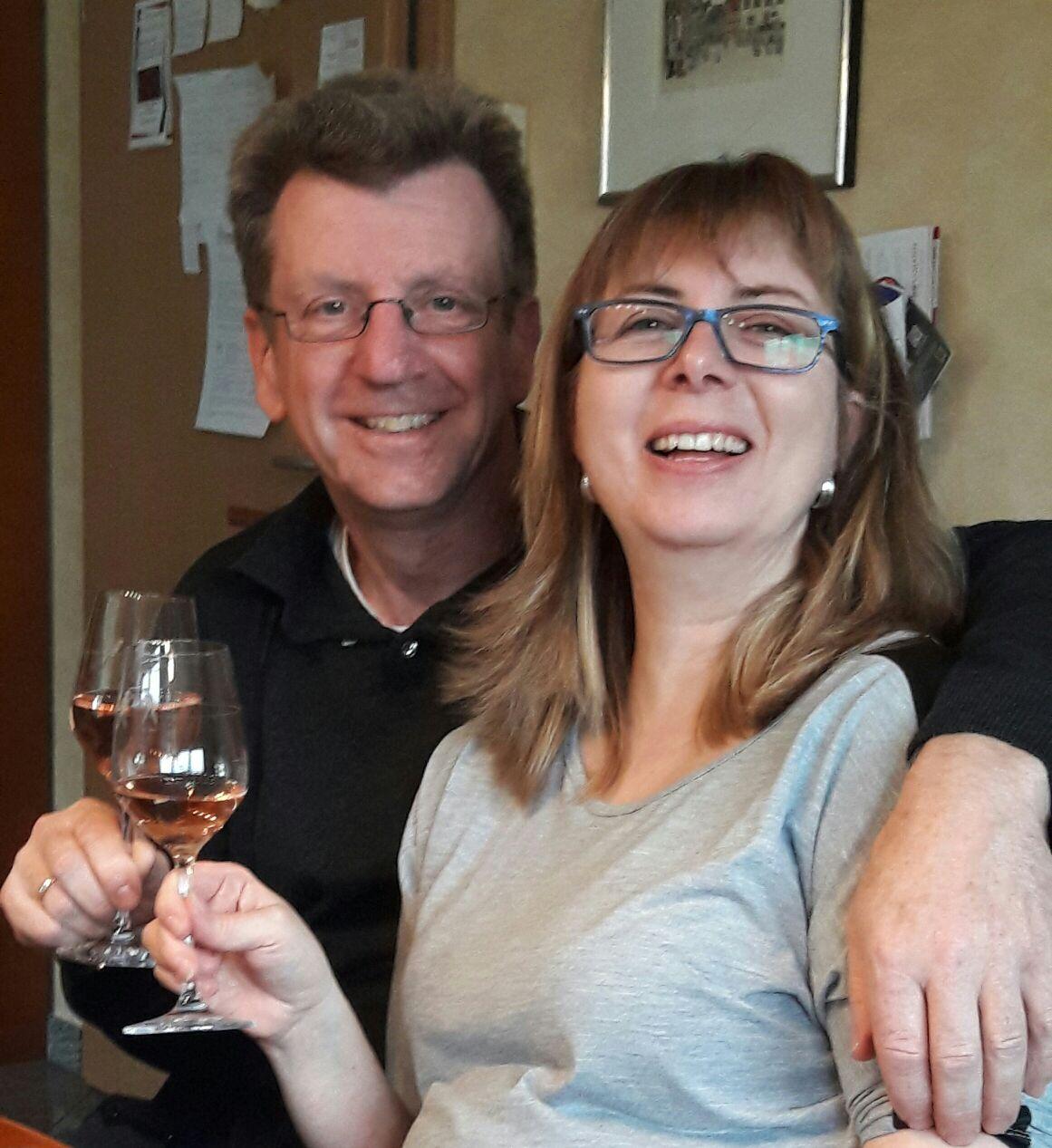 Herzliche Grüße von Sylvia & Klaus