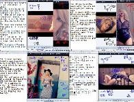 Shakira Addicted to youの動画からPrintScnでとったものを用いた例です。著作権の制限から私的使用に限られるため公開はできません。
